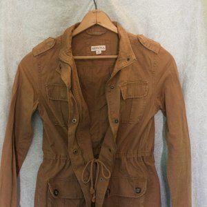 Khaki Cargo Jacket / Merona